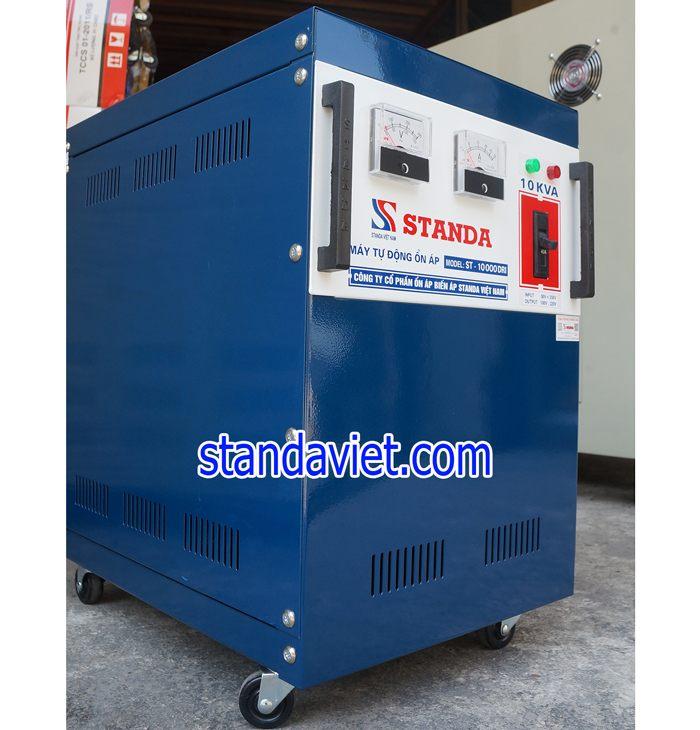 Ổn áp standa 10kva dải 50v-250v được dùng nhiều tại tỉnh Hải Dương