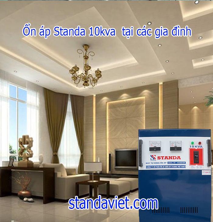 Ổn áp Standa 10kva dùng trong các gia đình