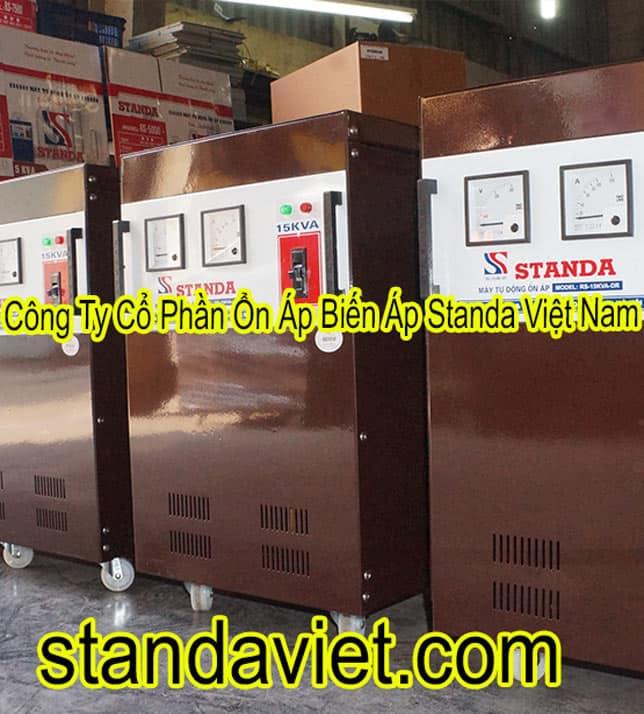 Giá Standa 15kVA chính hãng Công ty Cổ phần Ổn Áp Biến Áp Standa Việt Nam