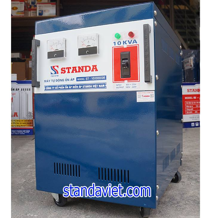 Mua standa 10kva dải điện áp nào dùng hợp lý là rất quan trọng