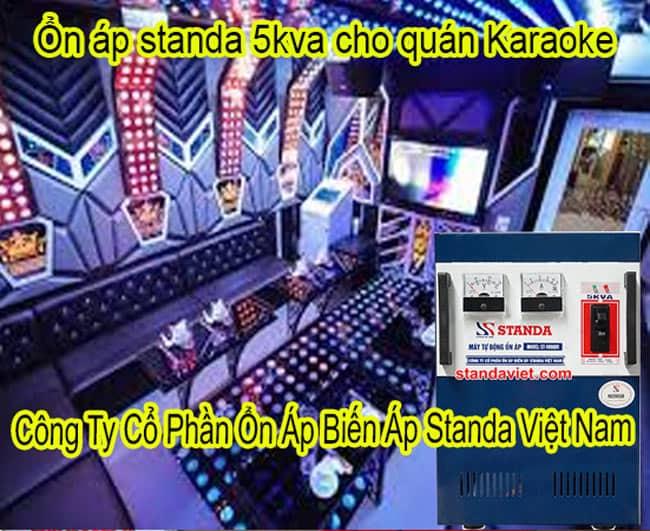 Ổn Áp Standa 5kVA Cho Quán Karaoke
