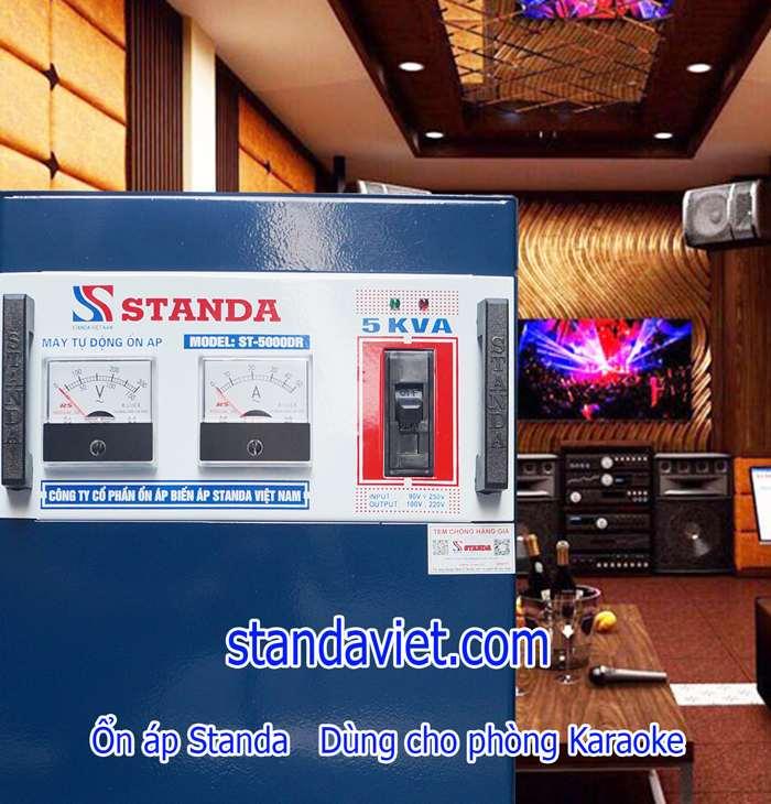 Ổn áp Standa 5kVA cho quán hát Karaoke