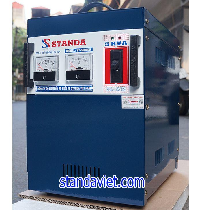 Ổn áp standa 5kva dải 90v chính hãng của Công ty.