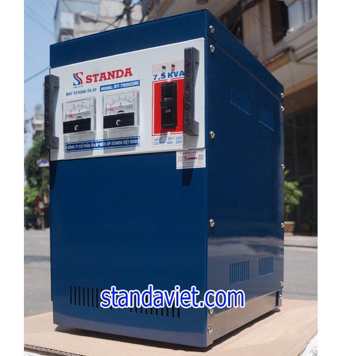 Ổn áp Standa 7,5kVA DRI 50V-250V chính hãng của Công ty