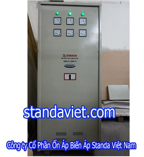Standa 150kva 3 pha hàng chính hãng Công ty Cp Ổn Áp Biến Áp Standa Việt Nam máy đặt hàng
