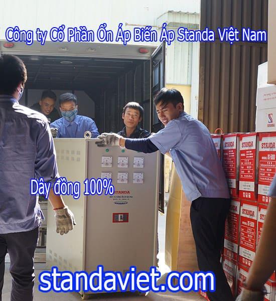 Standa 150KVA 3f chính hãng Công ty Cổ Phần Ổn Áp Biến Áp Standa Việt Nam