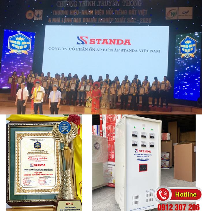 Standa 30kVA 3 pha thương hiệu nổi tiếng Việt Nam