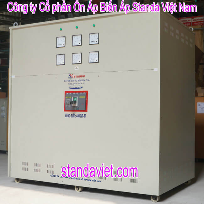 Biến áp 400kva standa chính hãng Công ty Cp ổn áp biến áp Standa Việt Nam