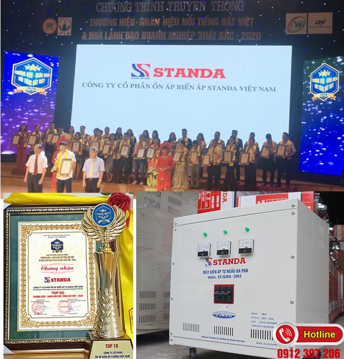 Biến Áp Standa 25kVA-Thương hiệu nổi tiếng