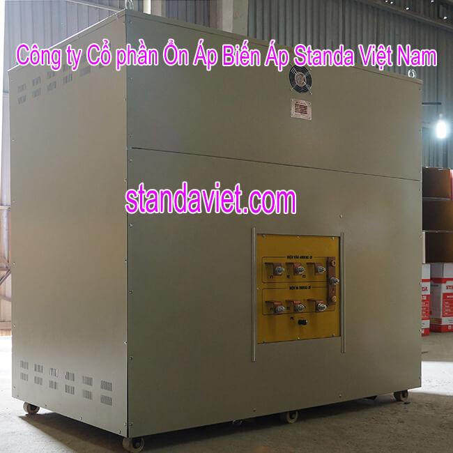 Biến áp tự ngẫu standa 400kva chính hãng Công ty Cổ phần ổn áp biến áp Standa Việt Nam