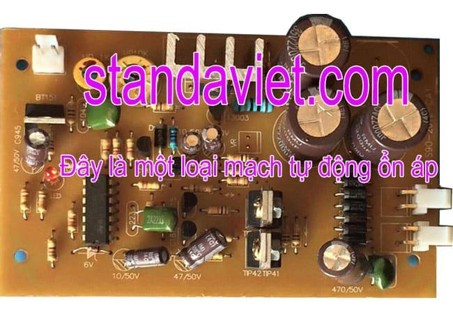 Cách chỉnh điện áp ra ổn áp qua mạch điện thông minh