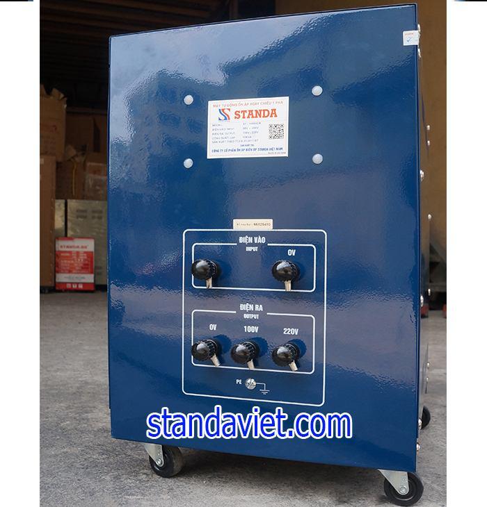 Giá Ổn áp Standa 10kVA dải 90v-250v hợp lý-Chất lượng máy tốt
