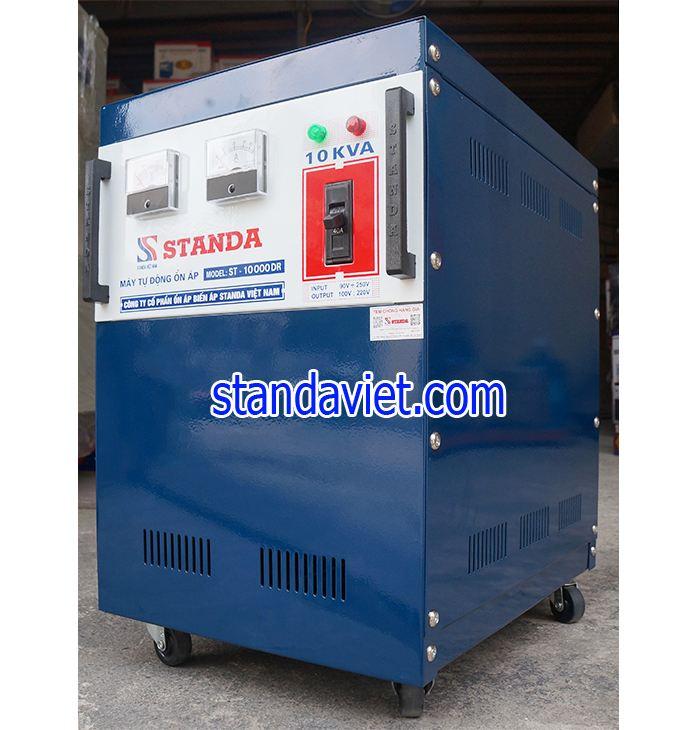 Ổn áp standa 10kva dải 90v điện ra 100v; 220v