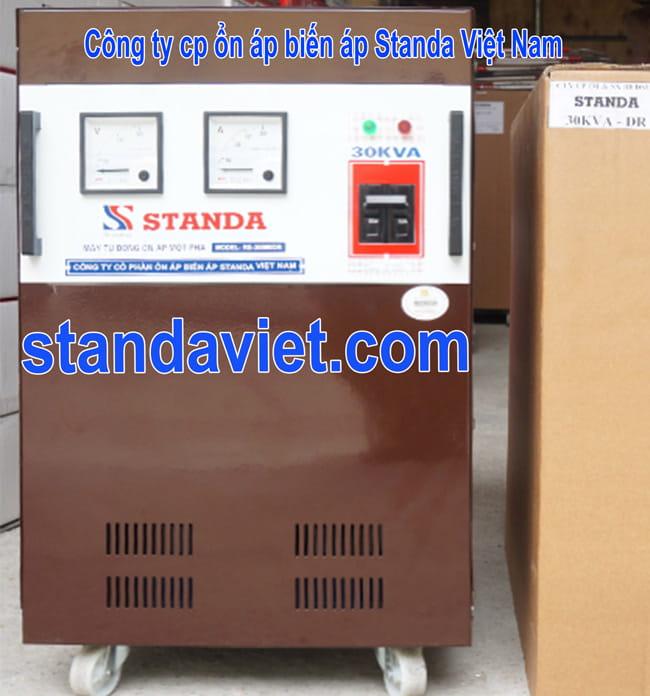 Ổn áp Standa 30kVA chính hãng Công ty Cổ phần ổn áp biến áp Standa Việt Nam
