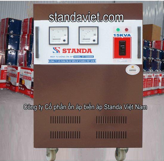 Ổn áp standa chính hãng của Công ty cổ phần ổn áp biến áp Standa Việt Nam