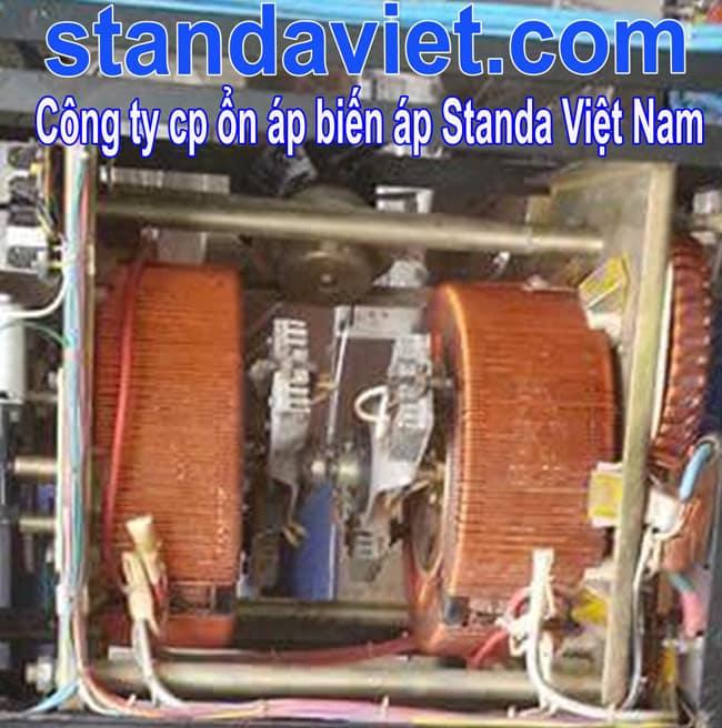 So sánh dây đồng dây nhôm với thép Ổn áp standa sử dụng dây đồng 100%
