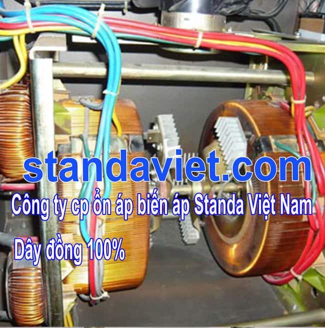 Standa 15kva chính hãng lõi quấn dây đồng 100%