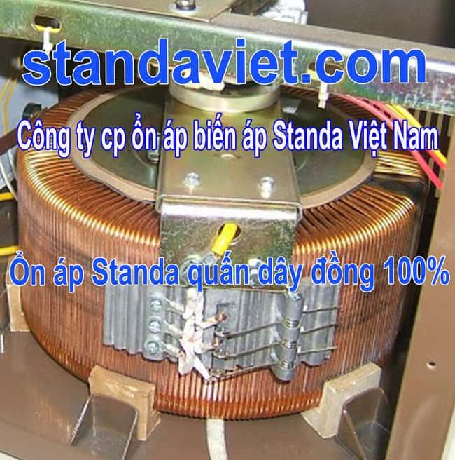 Standa 15kva dây đồng 100% chạy êm tổn hao điện nhỏ độ bền vô hạn