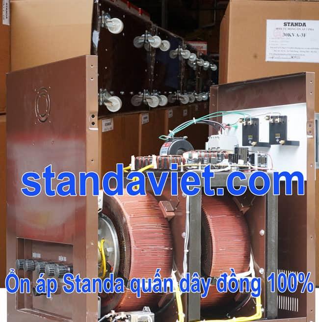 Standa 20kva chính hãng Công ty Cp ổn áp biến áp Standa Việt Nam chất lượng hàng đầu hiện nay