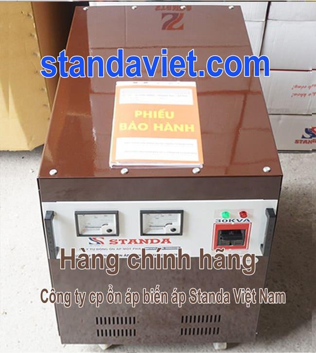 Standa 30 kva chính hãng Công ty Cổ phần ổn áp biến áp Standa Việt Nam