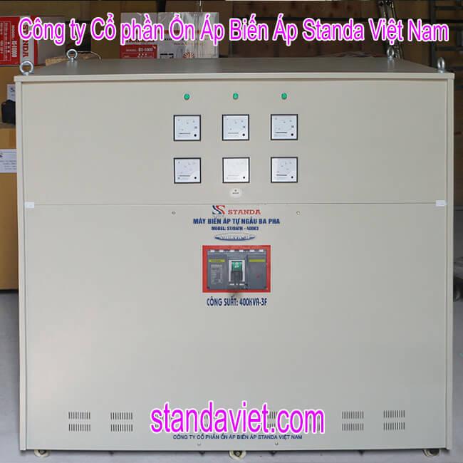Standa 400kva chính hãng Công ty Cổ phần ổn áp biến áp Standa Việt Nam