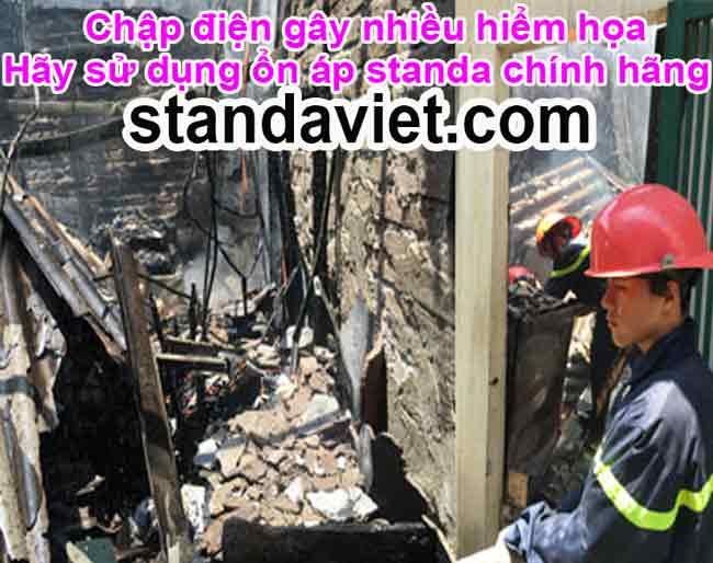 Nguyên nhân chập cháy là sử dụng hàng giả nhái kém chất lượng