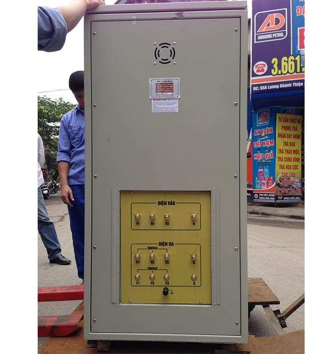 Ổn Áp Standa 100 kVA Dải 260V-430V Phía Sau Máy