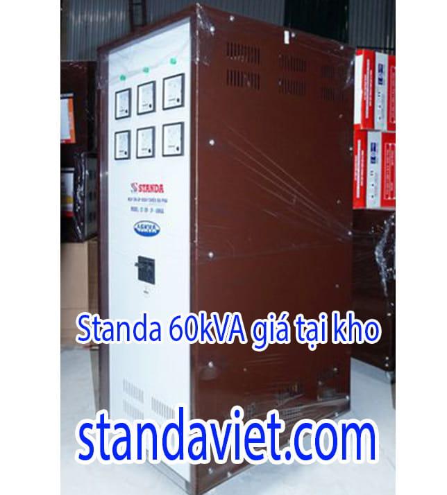 Ổn Áp Standa 60 kVA Dải 160V-430V