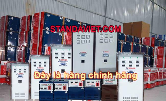 Ổn áp standa chính hãng tại Bắc Ninh