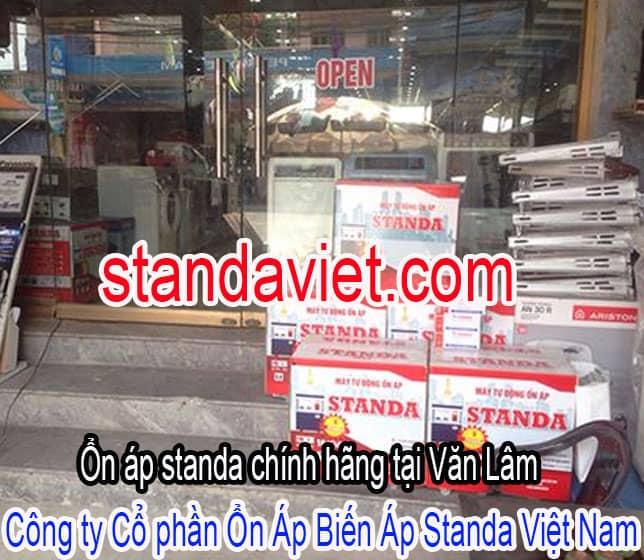 Ổn áp standa chính hãng tại Văn Lâm tỉnh Hưng Yên