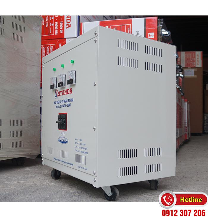 Biến áp Standa 20kVA 3F chính hãng 380V-220V-200V