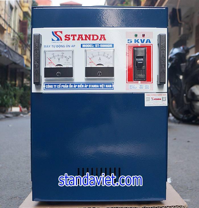 Giá Ổn áp standa 5kva rất hợp lý so với các hãng khác