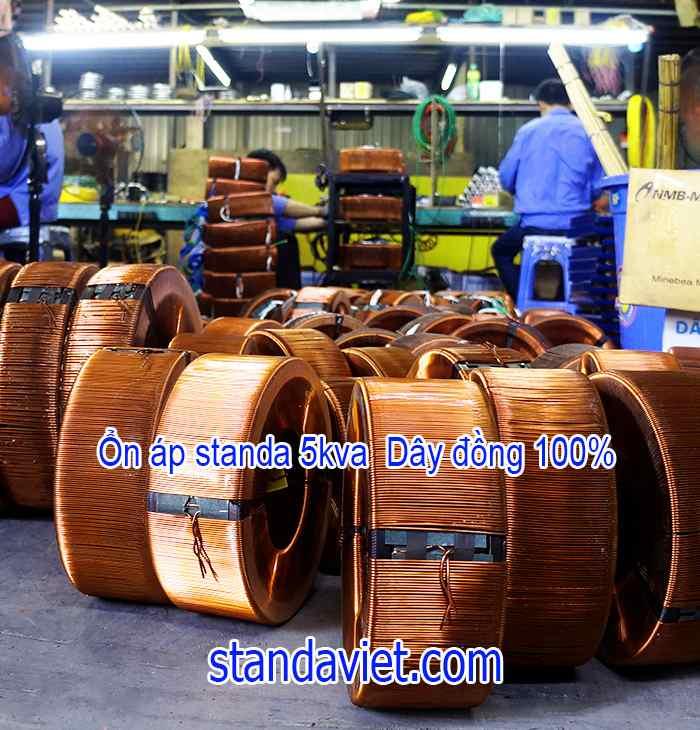 Giá Standa 5kva lõi đồng 100% hàng chuẩn của Công ty
