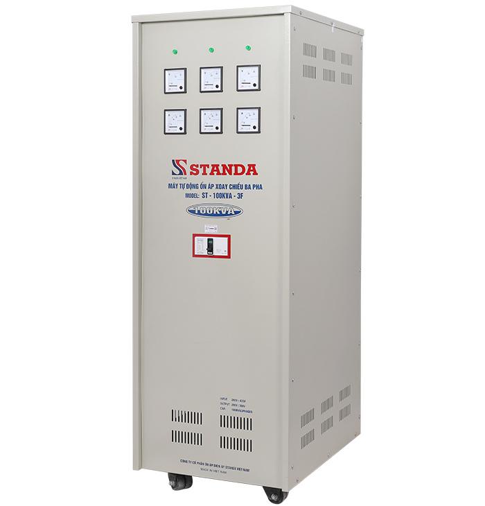 Ổn áp standa 100kva dây đồng 100% cho hiệu suất cao và bền