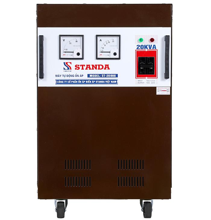 Ổn áp Standa 20kVA dải 150v-250v dây đồng 100%