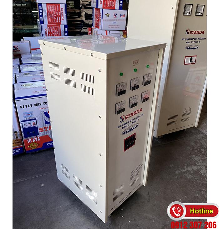 Ổn áp Standa 20kVA dải 260v-430v điện ra đủ 3 đường: 380v-220v-200v