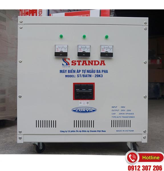 Biến Áp Standa 20kVA 380v/220v/200v