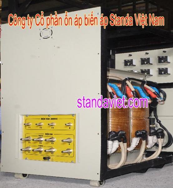 Biến áp 250kva chính hãng Công ty Cp ổn áp biến áp Standa Việt Nam