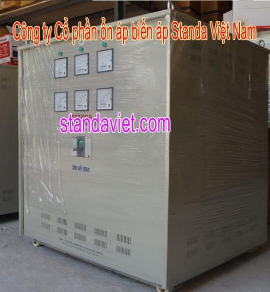 Biến áp tự ngẫu standa 250kva chính hãng Công ty Cp ổn áp biến áp Standa Việt Nam