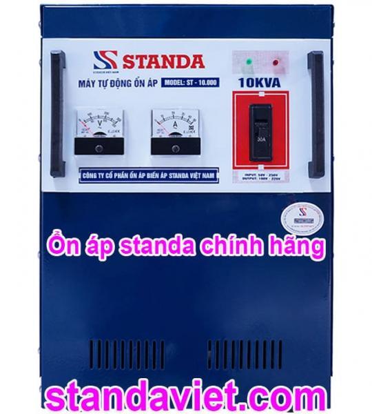 Ổn áp standa 10kva st 150v-250v hàng chính hãng