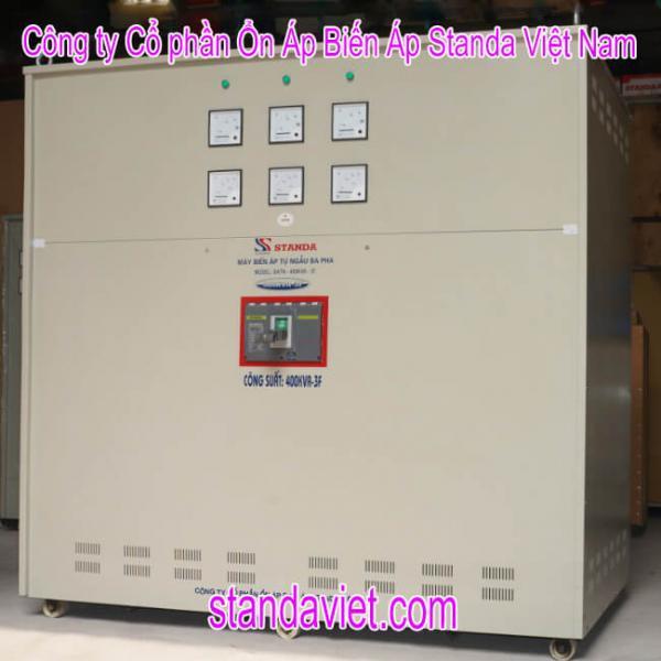 Biến áp cách ly 400kva standa chính hãng Công ty Cp ổn áp biến áp Standa Việt Nam