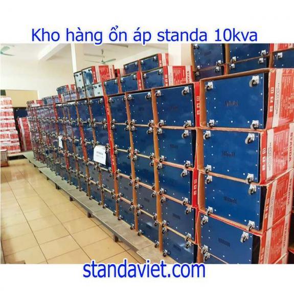 Giá standa 10kva chính hãng chuẩn dây đồng giá tốt tại kho