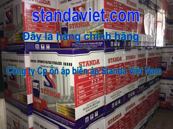 Standa 5kVA chính hãng của Công ty cổ phần ổn áp biến áp Standa Việt Nam