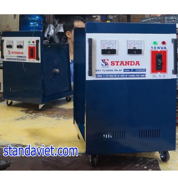 Ổn áp standa 10kva DRI dải 50v-250v