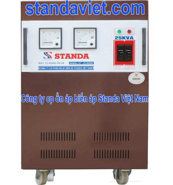 Standa 25 kVA chính hãng Công ty Cổ phần ổn áp biến áp Standa Việt Nam