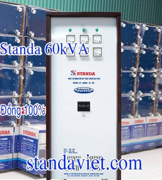 Ổn áp Standa 60KVA chính hãng Công ty Cp Ổn Áp Biến Áp Standa Việt Nam
