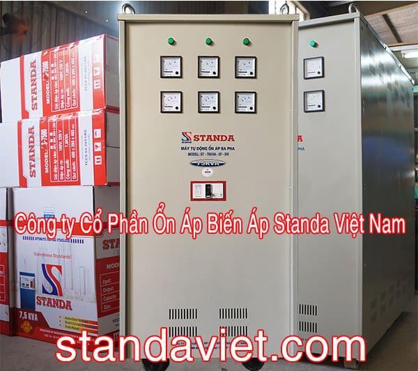 Ổn áp Standa 75KVA chính hãng Công ty Cp Ổn Áp Biến Áp Standa Việt Nam