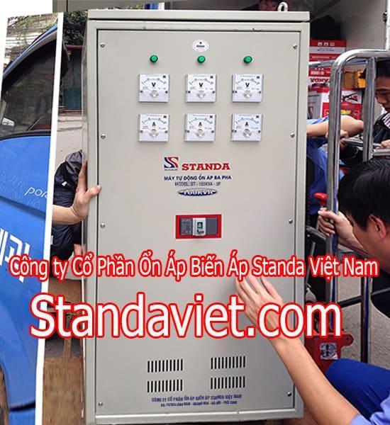 Ổn áp Standa 100KVA chính hãng Công ty Cỏ phần Ổn Áp Biến Áp Standa Việt Nam