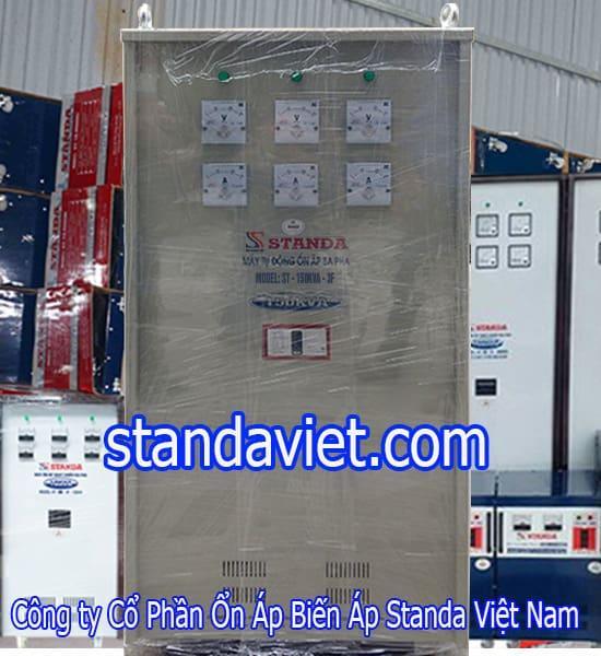 Ổn áp Standa 150KVA dải 260v-430v chính hãng Công ty Cp Ổn Áp Biến Áp Standa Việt Nam