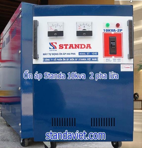 Standa 10kva 2 pha lửa dùng điện vào 3 pha điện ra 100v; 220v